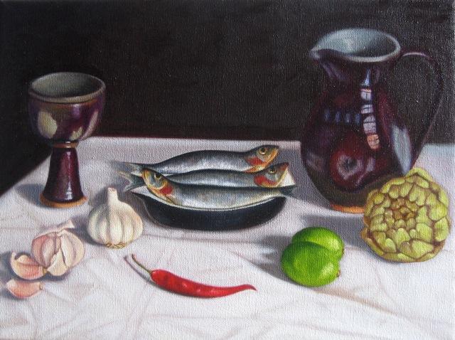 Sardines & artichoke