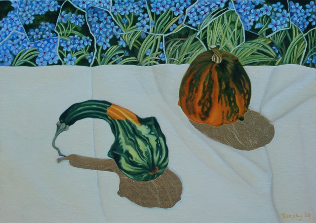 Gourds with grasses