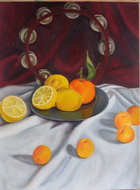 Tamborine & apricots II