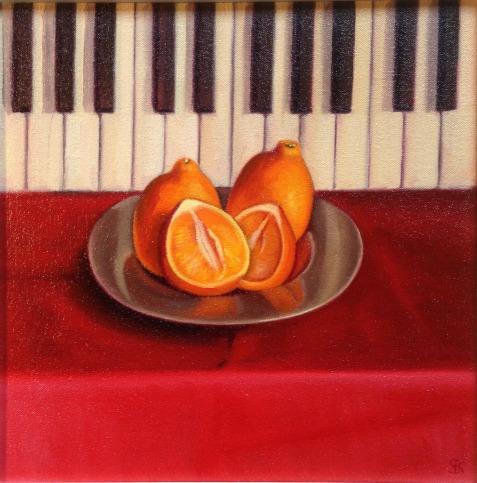 Piano Keys & Oranges