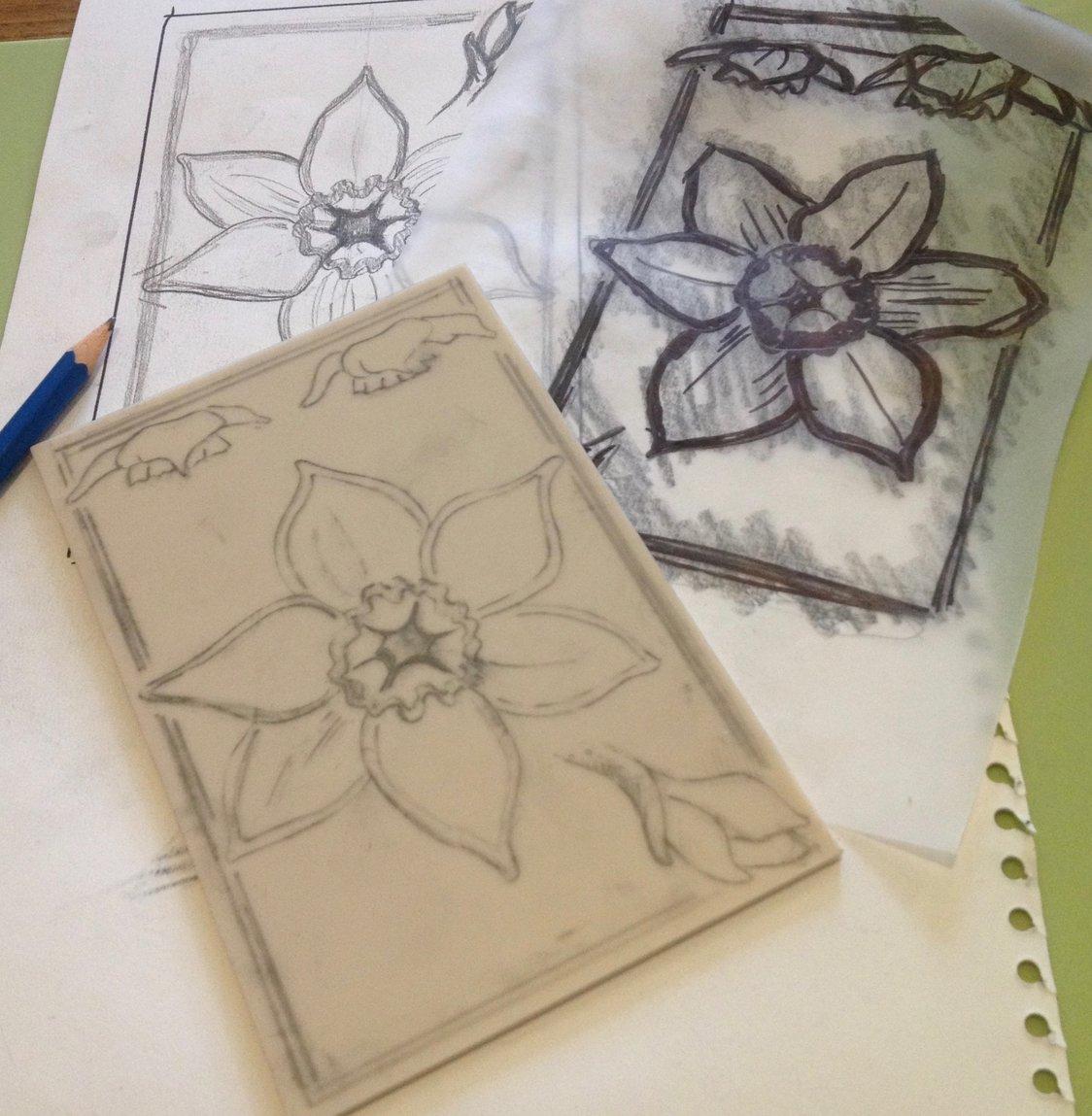 Design transfer to lino
