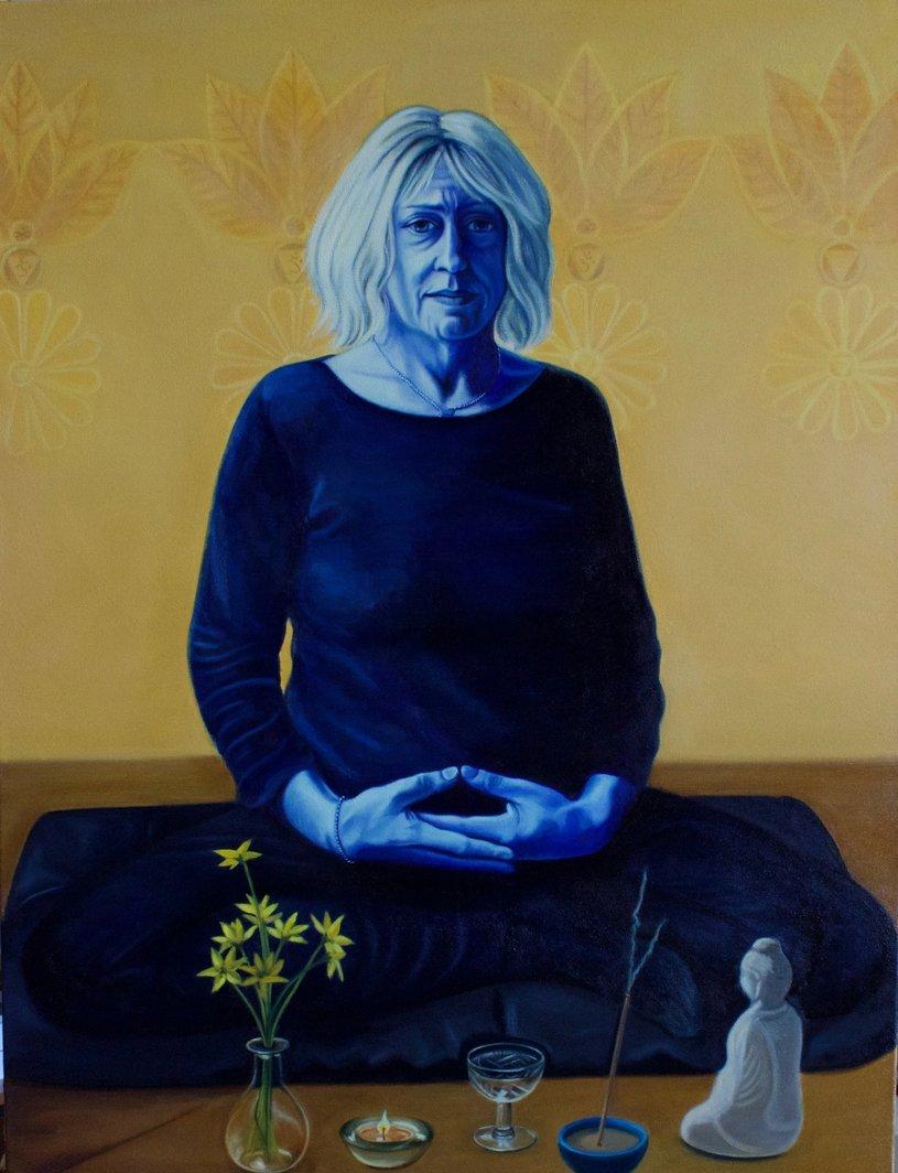 Myra Meditating